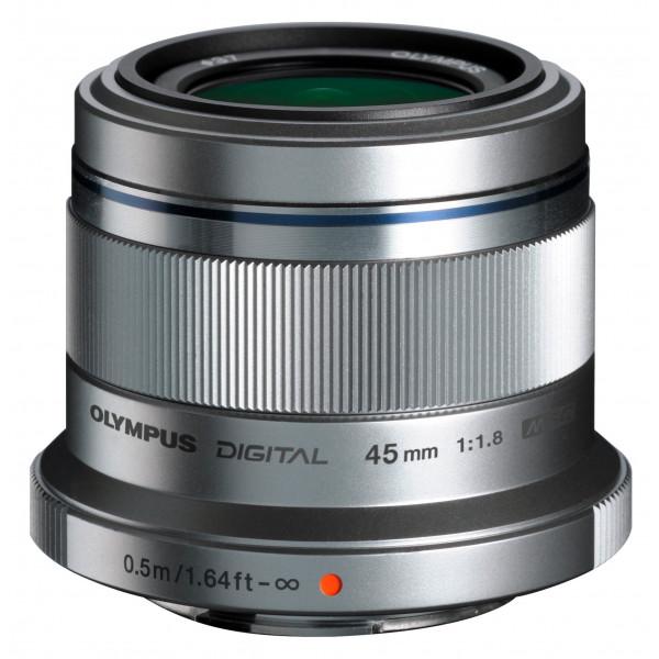 Olympus M.Zuiko Digital 45 mm 1:1.8 Objektiv silber-33