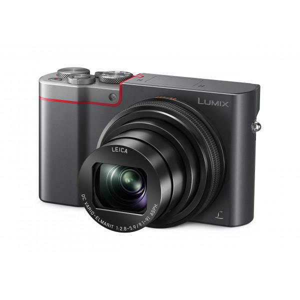 Panasonic LUMIX DMC-TZ101EGS Travellerzoom Kamera (20,1 Megapixel, LEICA Objektiv mit 10x opt. Zoom, 4K Foto und Video, Sucher, 3-Zoll Touch LCD) silber-38