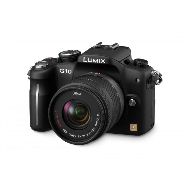 Panasonic Lumix DMC-G10KEG-K Micro Digitalkamera (12 Megapixel, LiveView) Gehäuse schwarz inkl. Lumix G Vario Objektiv (14-42 mm)-37