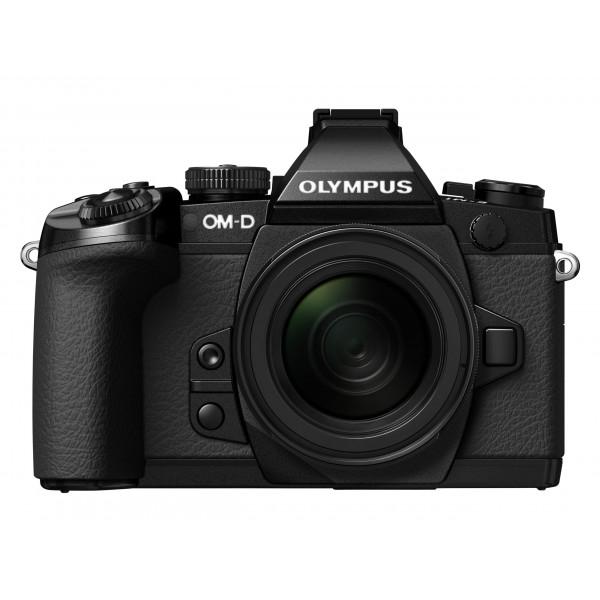Olympus E-M1 OM-D Systemkamera (16 Megapixel, 7,6 cm (3 Zoll) TFT LCD-Display, Full HD, HDR, 5-Achsen Bildstabilisator) inkl. M.Zuiko Digital ED 12-50mm Objektiv Kit schwarz-37