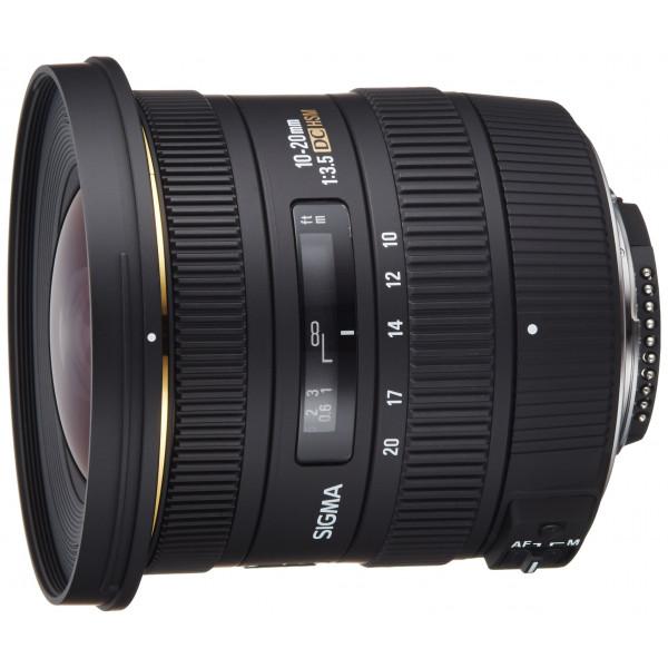 Sigma 10-20 mm F3,5 EX DC HSM-Objektiv (82 mm Filtergewinde) für Nikon Objektivbajonett-34