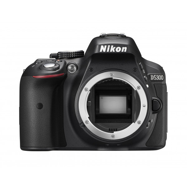 Nikon D5300 SLR-Digitalkamera (24,2 Megapixel, 8,1 cm (3,2 Zoll) LCD-Display, Full HD, HDMI, WiFi, GPS, AF-System mit 39 Messfeldern) nur Gehäuse schwarz-35