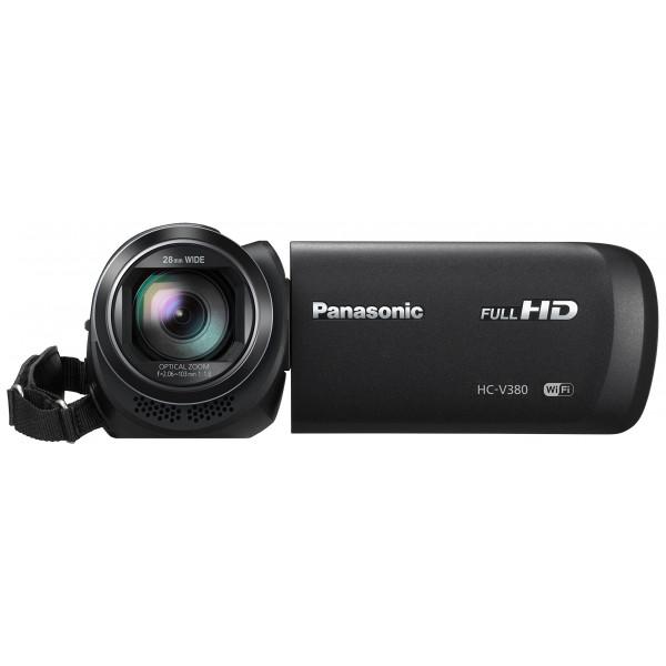 Panasonic HC-V380EG-K Full HD Camcorder (Full HD, 50x optischer Zoom, 28 mm Weitwinkel, optischer 5-Achsen Bildstabilisator Hybrid OIS+, WiFi) schwarz-39