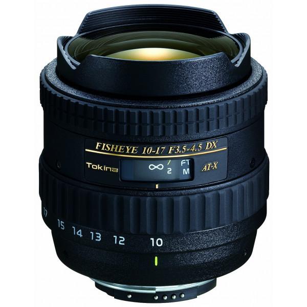 Tokina AT-X 10-17mm/f3.5-4.5 DX Weitwinkel-Fisheyeoptik Zoom-Objektiv für Nikon Objektivbajonett-32