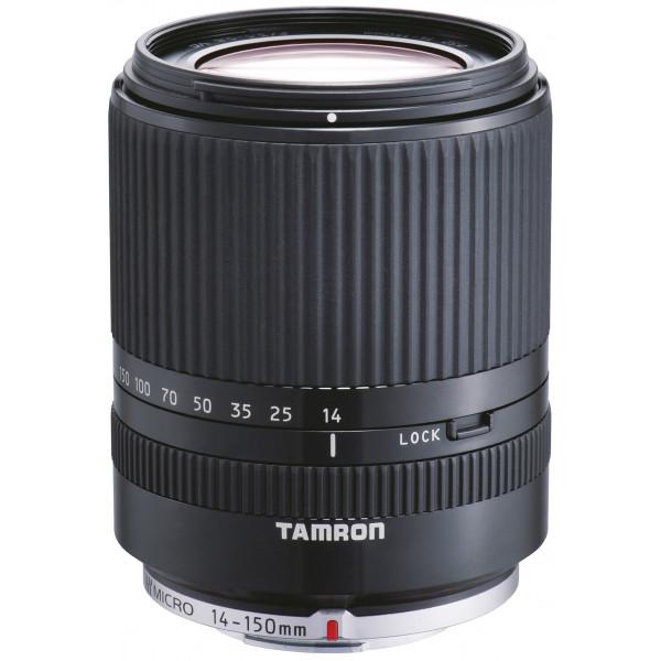 Tamron 14-150 mm F/3.5-5.8 Di III Objektiv für Micro Four Thirds schwarz-32