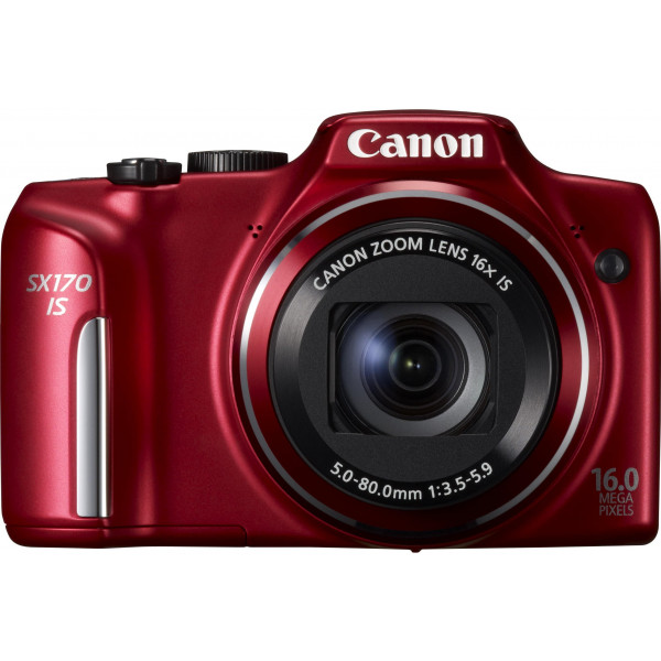 Canon PowerShot SX170 IS Digitalkamera (16 Megapixel, 16-fach opt. Zoom, 7,6 cm (3 Zoll) LCD-Display, bildstabilisiert) rot-38