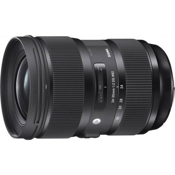 Sigma 24-35 mm F2,0 DG HSM Objektiv (82 mm Filtergewinde) für Canon Objektivbajonett schwarz-37
