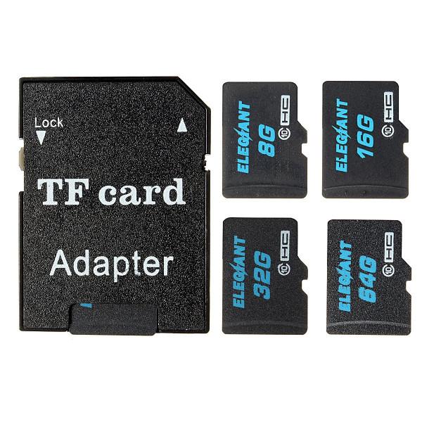 ELEGIANT 32 GB Micro SD TF Karte Speicherkarte Speicher Memory Card Class10 mit SDHC Adapter-38