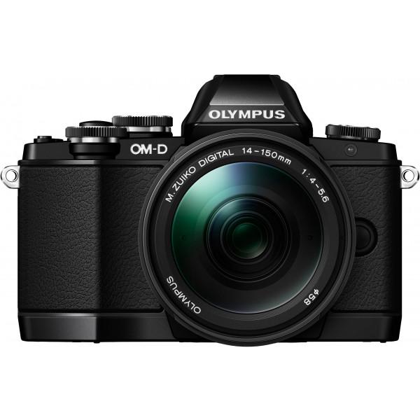 Olympus OM-D E-M10 Systemkamera (16 Megapixel, Live MOS Sensor, True Pic VII Prozessor, Fast-AF System, 3-Achsen VCM Bildstabilisator, Sucher, Full-HD, HDR) inkl. 14-150 mm II Objektiv schwarz-32