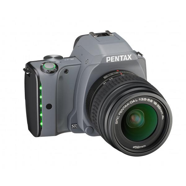 Pentax K-S1 SLR-Digitalkamera (20 Megapixel, 7,6 cm (3 Zoll) TFT Farb-LCD-Display, ultrakompaktes Gehäuse, Anti-Moiré-Funktion, Full-HD-Video, Wi-Fi, HDMI) Kit inkl. DAL 18-55 Objektiv tweed gray-32