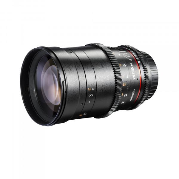 Walimex Pro 135mm f/2,2 Objektiv VCSC für Micro Four Thirds (Filterdurchmesser 77 mm)-35