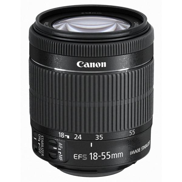 Canon EF-S 18-55mm 1:3,5-5,6 IS STM Objektiv (58mm Filtergewinde) schwarz-36