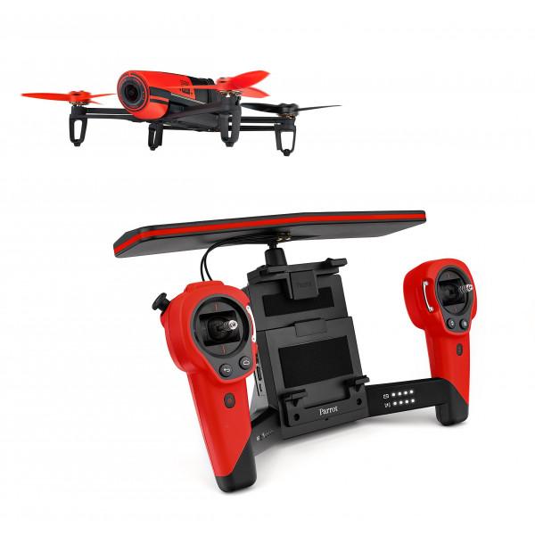 Parrot Bebop Drohne + Parrot Skycontroller rot-310