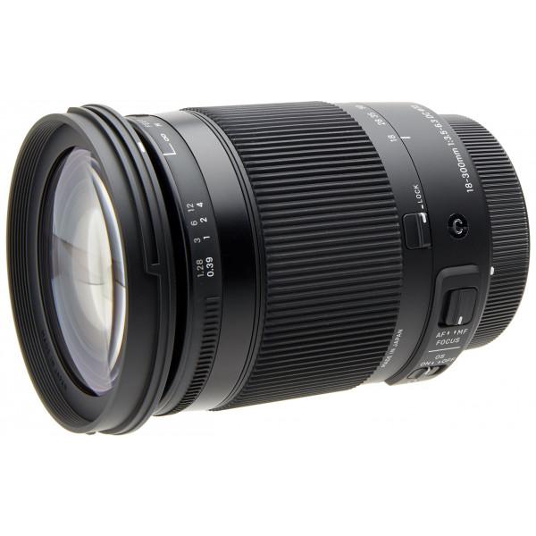 Sigma 18-300/3,5-6,3 DC Makro OS HSM Objektiv (Filtergewinde 72mm) für Canon Objektivbajonett schwarz-38