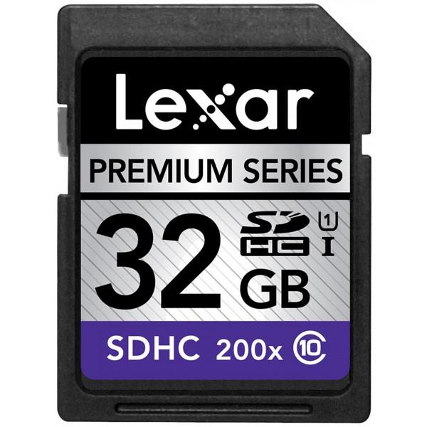 Lexar PS SDHC 32GB 200X (Class 10) LSD32GBBEU200-32