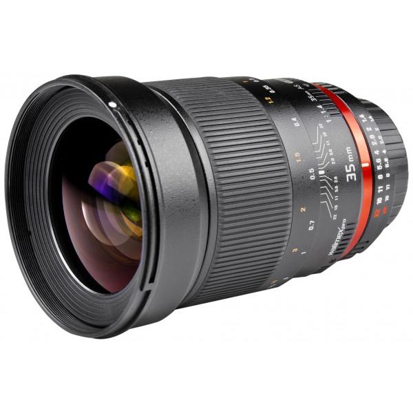Walimex Pro 35mm 1:1,4 CSC-Objektiv für Fuji X Objektivbajonett (Filtergewinde 77mm, Gegenlichtblende, IF, AS-Linsen) schwarz-38