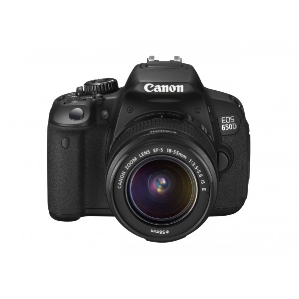 Canon EOS 650D SLR Digitalkamera (18 Megapixel, 7,6 cm (3 Zoll) Touch-Display, Full HD) Kit inkl. EF-S 18-55 IS II Objektiv schwarz-312