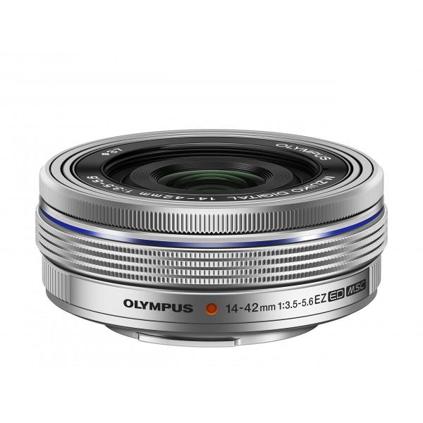 Olympus M.ZUIKO DIGITAL 14-42mm 1:3.5-5.6 EZ Objektiv (elektronik zoom) silber-36