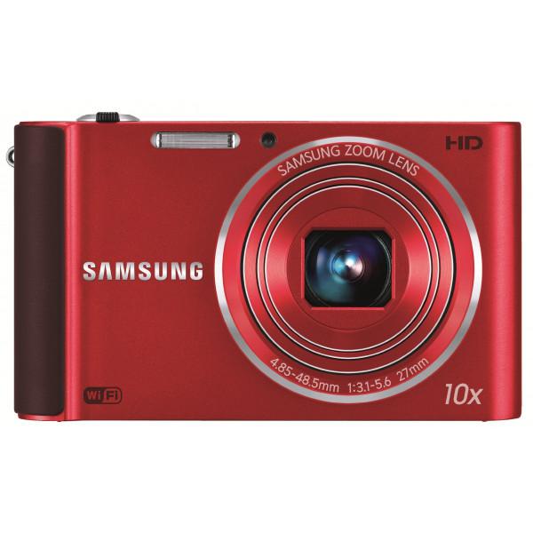 Samsung ST200F Smart-Digitalkamera (16 Megapixel, 10-fach opt. Zoom, 7,6 cm (3 Zoll) Display, bildstabilisiert, Wifi, nur micro-SD) rot-34