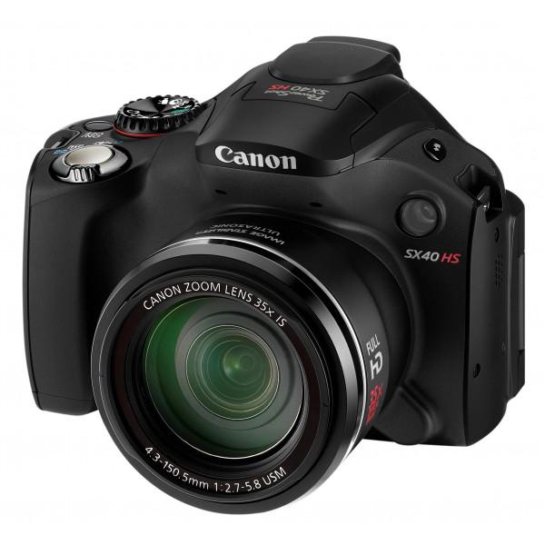 Canon PowerShot SX40 HS Digitalkamera (12 Megapixel, 35-fach opt. Zoom, 6,9 cm (2,7 Zoll) Display, bildstabilisiert) schwarz-37