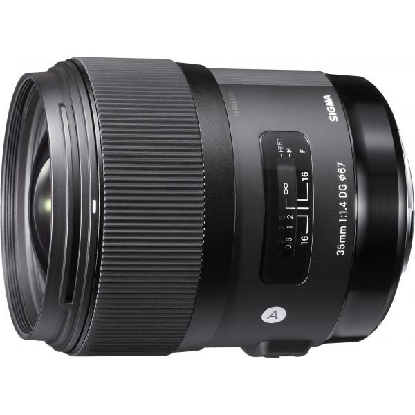 Sigma 35 mm f/1,4 DG HSM-Objektiv (67 mm Filtergewinde) für Canon Objektivbajonett-37
