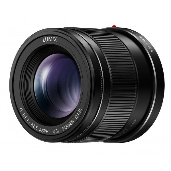 Panasonic H-HS043E LUMIX G Festbrennweiten 42,5 mm F1.7 ASPH Objektiv (ideal für Portraitaufnahmen, Power O.I.S. Bildstabilisator) schwarz-33