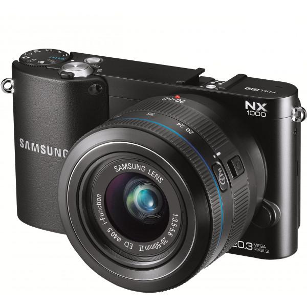 Samsung NX1000 Systemkamera (20 Megapixel, 7,6 cm (3 Zoll) Display) inkl. 20-50mm F3.5-5.6 ED II Objektiv schwarz-32