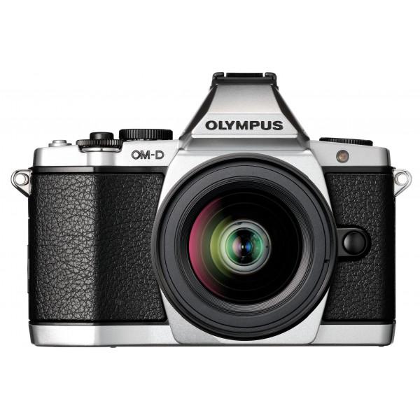 Olympus E-M5 OM-D kompakte Systemkamera (16 Megapixel, 7,6 cm (3 Zoll) Display, bildstabilisiert) inkl. Objektiv M.Zuiko Digital ED 12-50mm silber-39