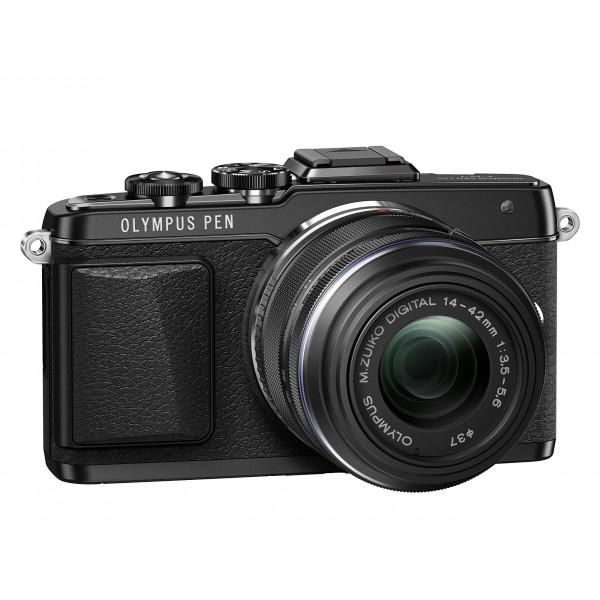 Olympus PEN E-PL7 Kompakte Systemkamera (16 Megapixel, manueller Zoom, Full HD, 7,6 cm (3 Zoll) Display, Wifi) inkl. 14-42 mm Objektiv schwarz/schwarz-34