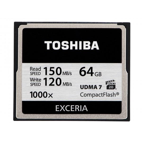 Toshiba Exceria CompactFlash 64GB (bis zu 150MB/s lesen) Speicherkarte schwarz-33
