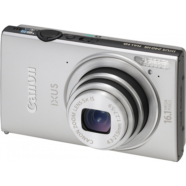 Canon IXUS 240 HS Digitalkamera (16,1 Megapixel, 5-fach opt. Zoom, 8,1 cm (3,2 Zoll) Touch-Display, WiFi, Full-HD) silber-36