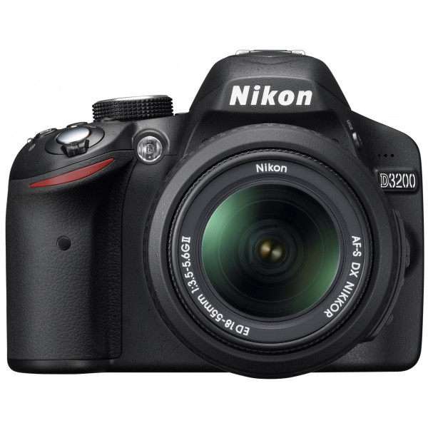 Nikon D3200 SLR-Digitalkamera (24 Megapixel, 7,4 cm (2,9 Zoll) Display, Live View, Full-HD) Kit inkl. AF-S DX 18-55 II Objektiv schwarz-35