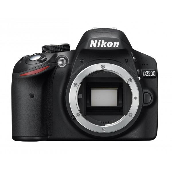 Nikon D3200 SLR-Digitalkamera (24 Megapixel, 7,4 cm (2,9 Zoll) Display, Live View, Full-HD) nur Gehäuse schwarz-34