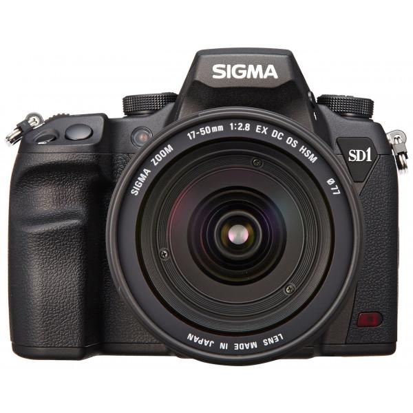 Sigma SD1 Merrill SLR-Digitalkamera (46 Megapixel, 7,6 cm (3 Zoll) Display, CF-Kartenslot) Kit inkl. 17-50 mm F2,8 EX DC OS Objektiv für Sigma Objektivbajonett-36