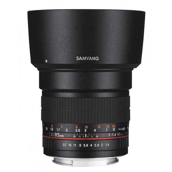 Samyang 85mm F1.4 Objektiv für Anschluss Sony E-35