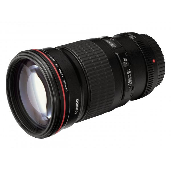 Canon EF 200mm 1:2,8 L II USM Objektiv (72 mm Filtergewinde)-32