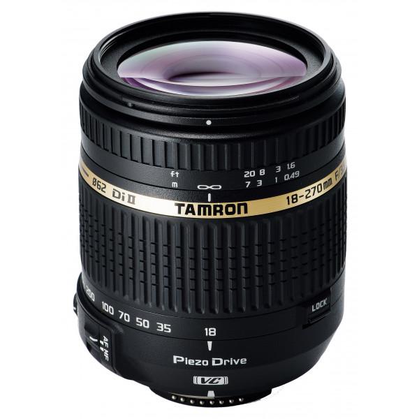 Tamron 18-270mm F/3,5-6,3 Di II VC PZD Objektiv für Nikon (62 mm Filtergewinde)-310