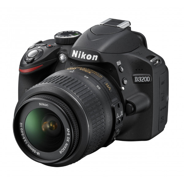 Nikon D3200 SLR-Digitalkamera (24 Megapixel, 7,4 cm (2,9 Zoll) Display, Live View, Full-HD) Kit inkl. AF-S DX 18-55 VR Objektiv schwarz-36
