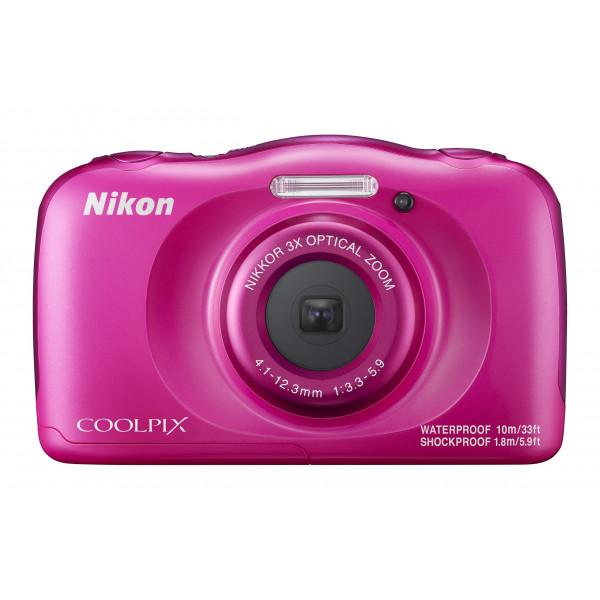 Nikon Coolpix W100 Kamera pink-34