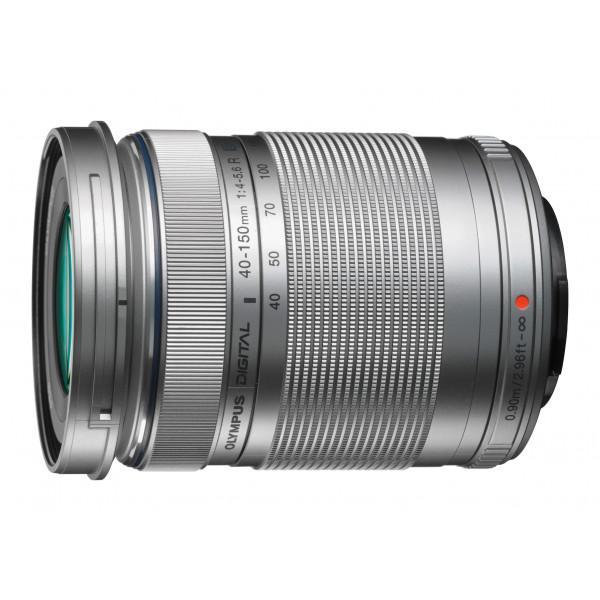 Olympus M.Zuiko Digital ED 40-150 mm 1:4.0-5.6 R Objektiv silber-32