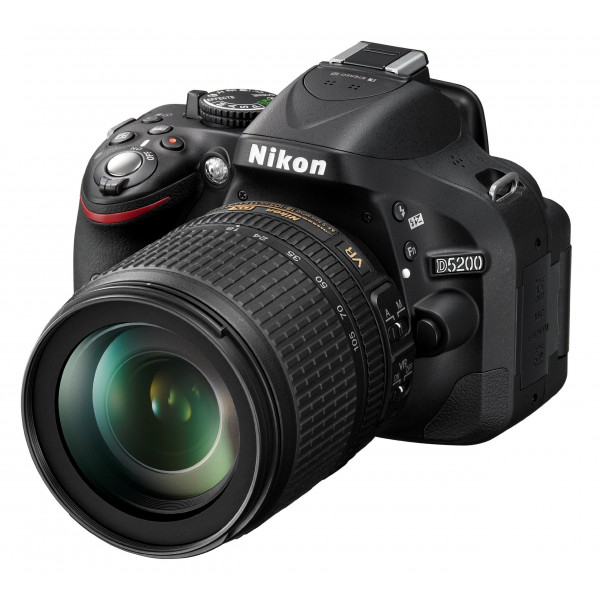Nikon D5200 SLR-Digitalkamera (24,1 Megapixel, 7,6 cm (3 Zoll) TFT-Display, Full HD, HDMI) Kit inkl. AF-S DX 18-105 mm VR Objektiv schwarz-34