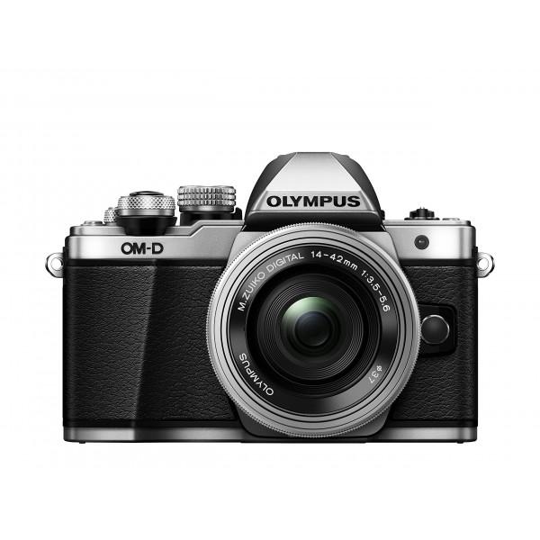 Olympus OM-D E-M10 Mark II Systemkamera (16 Megapixel, 5-Achsen VCM BildsTabilisator, elektronischer Sucher mit 2,36 Mio. OLED, Full-HD, WLAN, Metallgehäuse) Kit inkl. 14-42mm Objektiv silber-39