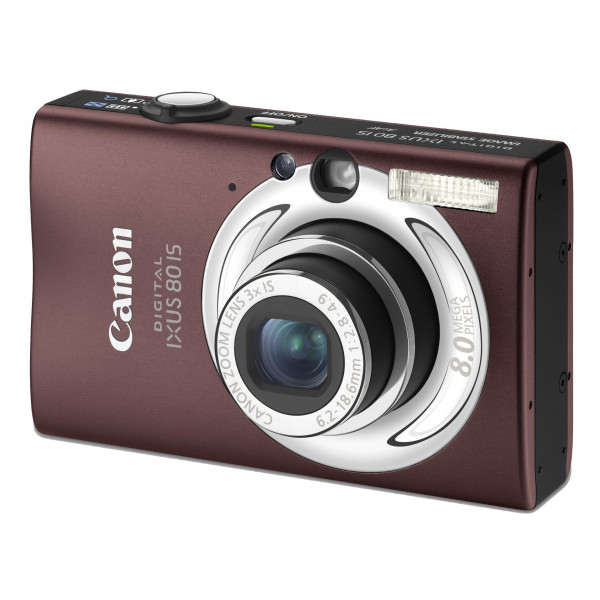"Canon Digital IXUS 80 IS Digitalkamera (8 Megapixel, 3-fach opt. Zoom, 2,5"" Display, Bildstabilisator) braun-34"
