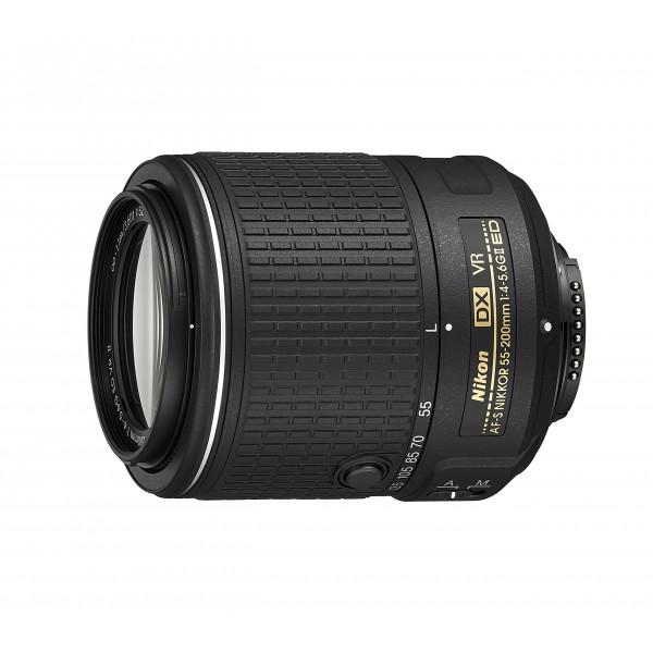 Nikon AF-S DX Nikkor 55-200 mm 1:4-5,6G ED VR II Objektiv schwarz-31