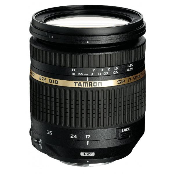 Tamron SP AF 17-50mm 2,8 Di II VC Objektiv (72 mm Filtergewinde, bildstabilisiert) für Nikon-32