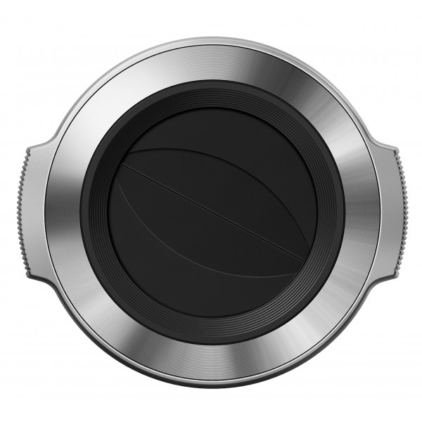 Olympus V325373SW000 LC-37C automatischer Objektivdeckel für M.Zuiko 14-42mm EZ silber-34
