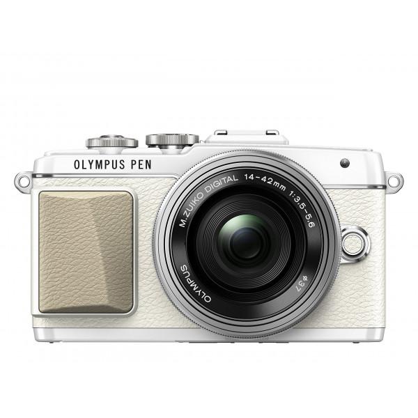 Olympus PEN E E-PL7. Kompakte Systemkamera (16 Megapixel, elektrischer Zoom, Full HD, 7,6 cm (3 Zoll) Display, Wifi) inkl. 14-42 mm Pancake Objektiv weiß/silber-313