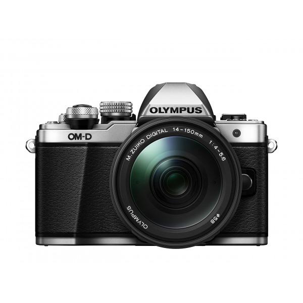 Olympus OM-D E-M10 Mark II Systemkamera Kit (16 Megapixel, 5-Achsen VCM Bildstabilisator, Sucher mit 2,36 Mio-OLED, Full-HD, WLAN, M.Zuiko Digital ED 14-150mm Objektiv, Metallgehäuse) silber-35