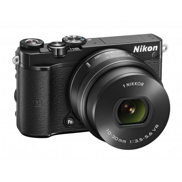 Nikon 1 J5 Systemkamera (20 Megapixel, 7,5 cm (3 Zoll) Display, 4K-Videoaufzeichnung, Funktionswählrad, Einstellrad, Funktionstaste, WiFi, NFC, USB, HDMI) Kit inkl. 10-30 mm PD-Zoom Objektiv schwarz-35