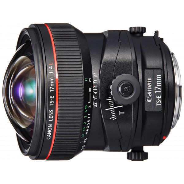 Canon TS-E 17mm 1:4L Objektiv schwarz-34